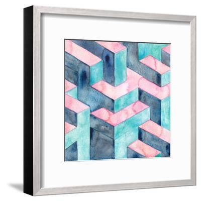 Watercolour Illusion-Elena O'Neill-Framed Art Print