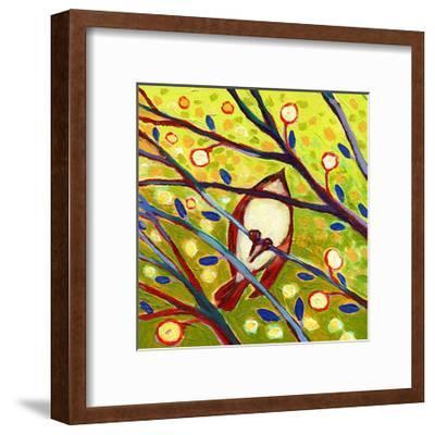 Modern Bird VI-Jennifer Lommers-Framed Art Print