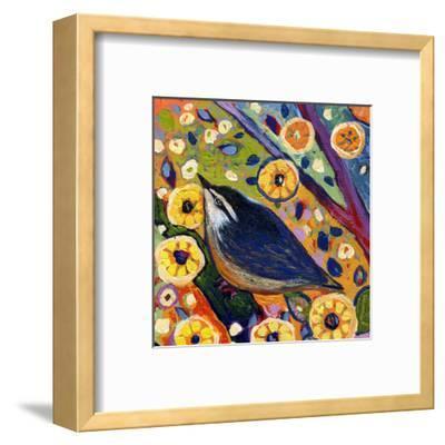 Modern Bird XI-Jennifer Lommers-Framed Art Print