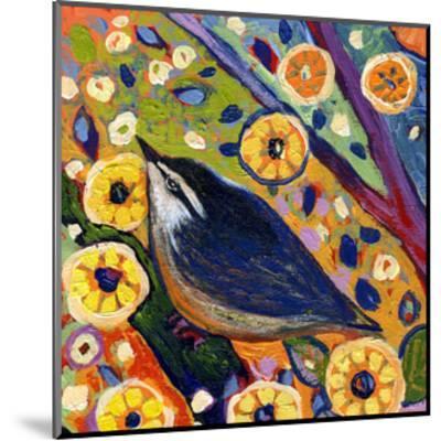 Modern Bird XI-Jennifer Lommers-Mounted Art Print