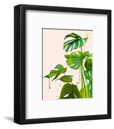 Leafy Greens Edition 1-Jessica Durrant-Framed Art Print