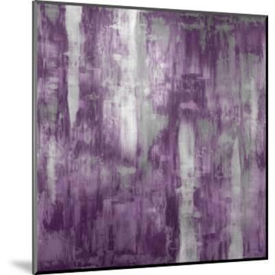 Amethyst Gradation-Justin Turner-Mounted Giclee Print