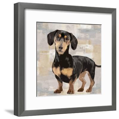 Dachshund-Keri Rodgers-Framed Giclee Print