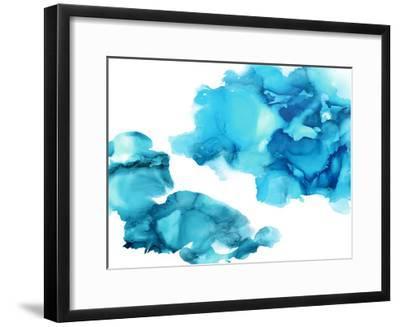 Elevate in Aqua-Lauren Mitchell-Framed Giclee Print