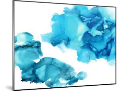 Elevate in Aqua-Lauren Mitchell-Mounted Giclee Print