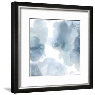 Elevate in Blue-Lauren Mitchell-Framed Giclee Print