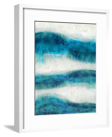 Emerge in Aqua-Jaden Blake-Framed Giclee Print