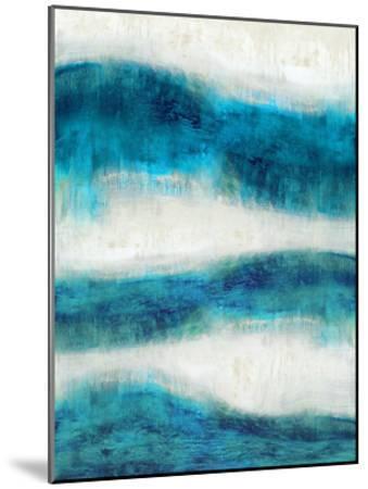 Emerge in Aqua-Jaden Blake-Mounted Giclee Print