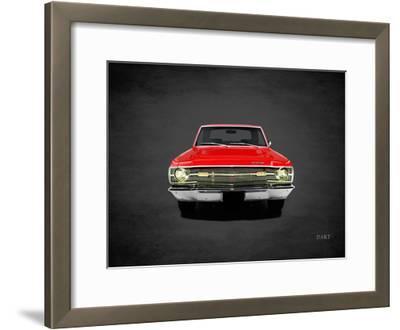 Dodge Dart340 1969-Mark Rogan-Framed Giclee Print