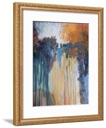 Cascading Memories II-Michael Tienhaara-Framed Giclee Print