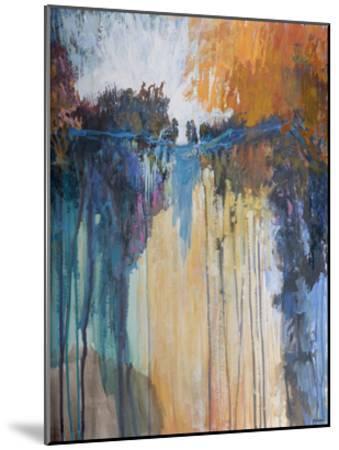 Cascading Memories II-Michael Tienhaara-Mounted Giclee Print