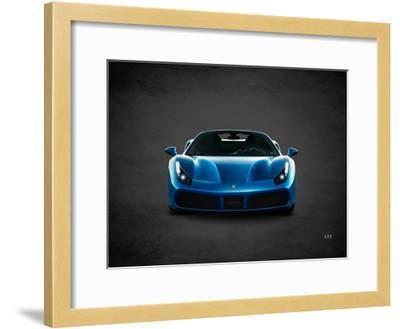 Ferrari 488-Mark Rogan-Framed Giclee Print