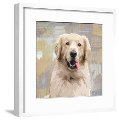 Golden Retriever-Keri Rodgers-Framed Giclee Print