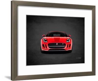 Jaguar F-Type Front-Mark Rogan-Framed Giclee Print
