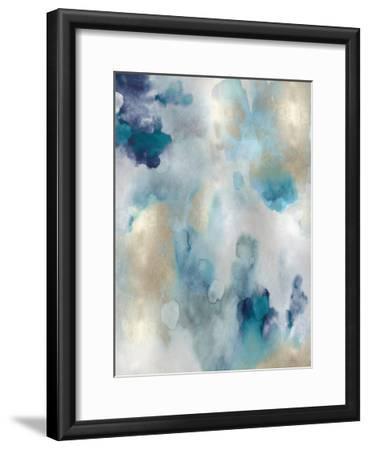 Whipser in Aqua V-Lauren Mitchell-Framed Giclee Print