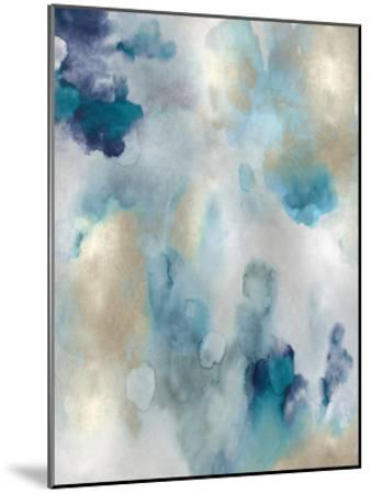 Whipser in Aqua V-Lauren Mitchell-Mounted Giclee Print