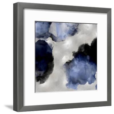 Whisper in Indigo III-Lauren Mitchell-Framed Giclee Print