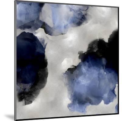 Whisper in Indigo III-Lauren Mitchell-Mounted Giclee Print