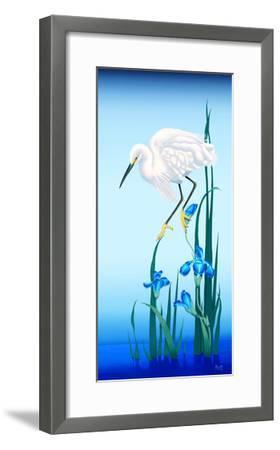 Spring Egret-Gerard Kelly-Framed Giclee Print
