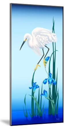Spring Egret-Gerard Kelly-Mounted Giclee Print