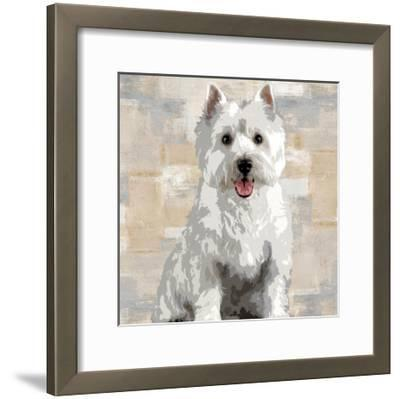 West Highland White Terrier-Keri Rodgers-Framed Giclee Print