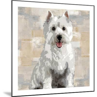 West Highland White Terrier-Keri Rodgers-Mounted Giclee Print