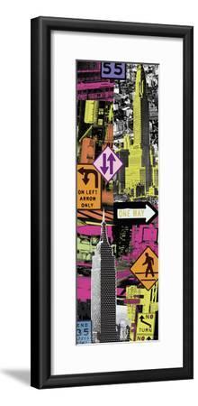 Downtown I-Tom Frazier-Framed Giclee Print