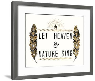 Let Heaven - Star-Kristine Hegre-Framed Giclee Print