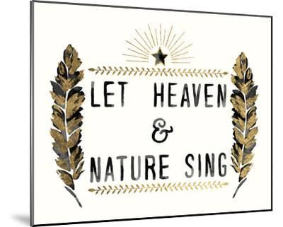 Let Heaven - Star-Kristine Hegre-Mounted Giclee Print