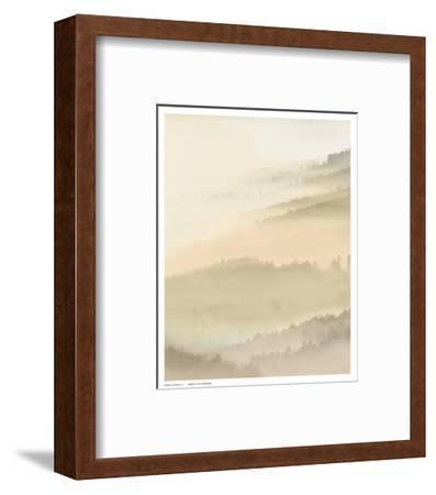 Fog Valley I.-Herzog-Framed Art Print