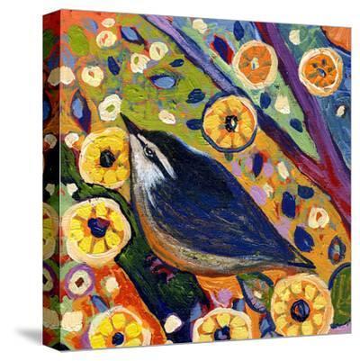 Modern Bird XI-Jennifer Lommers-Stretched Canvas Print