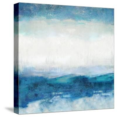 Aqua Motion-Jaden Blake-Stretched Canvas Print