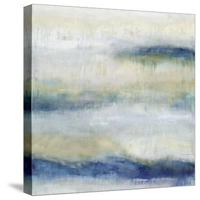 Indigo Motion I-Jaden Blake-Stretched Canvas Print