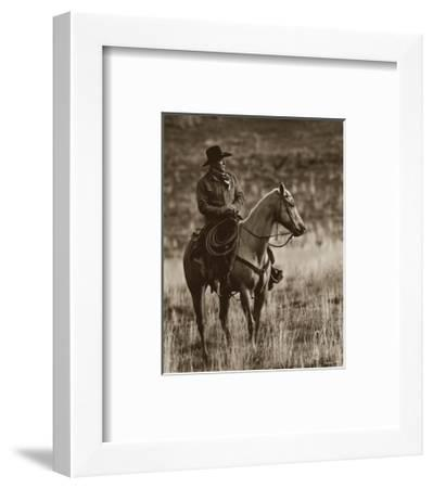 Gentle on My Mind-Barry Hart-Framed Art Print