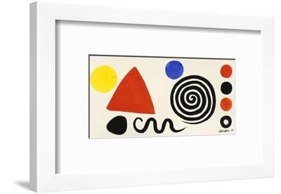 Abstraction, 1966-Alexander Calder-Framed Art Print
