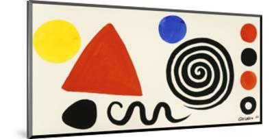 Abstraction, 1966-Alexander Calder-Mounted Art Print