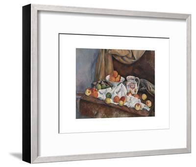 Still Life (Nature Morte), 1892-1894-Paul Cezanne-Framed Art Print