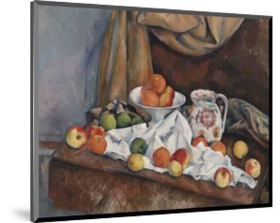 Still Life (Nature Morte), 1892-1894-Paul Cezanne-Mounted Art Print