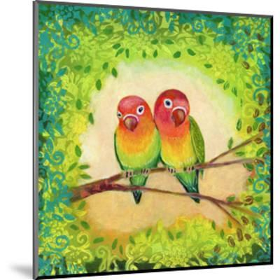 Love Birds-Jennifer Lommers-Mounted Art Print