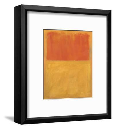 Orange and Tan, 1954-Mark Rothko-Framed Art Print