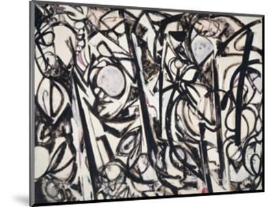 Gothic Landscape, 1961-Lee Krasner-Mounted Art Print