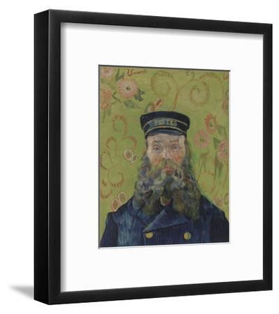 The Postman (Joseph-Etienne Roulin), 1889-Vincent van Gogh-Framed Art Print
