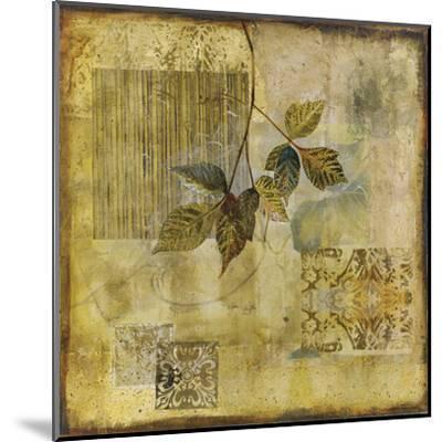 Botanical Motif IV-Augustine-Mounted Giclee Print
