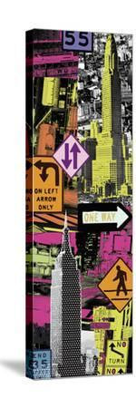 Downtown I-Tom Frazier-Stretched Canvas Print