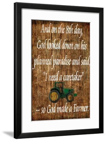 Farmer Giclee Print By Dan Sproul Artcom