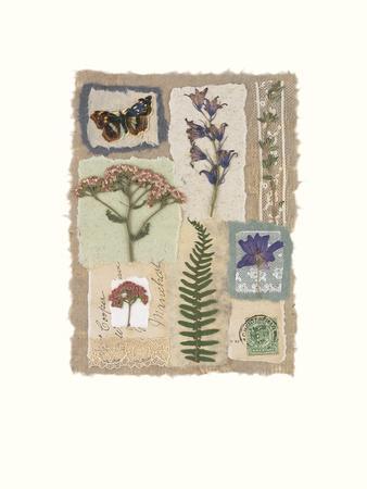 Souvenirs I-Julie Lavender-Framed Giclee Print