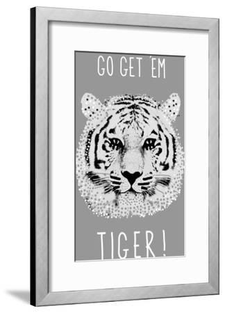 Go Get 'em Tiger!-Emilie Ramon-Framed Giclee Print