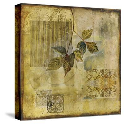 Botanical Motif IV-Augustine-Stretched Canvas Print