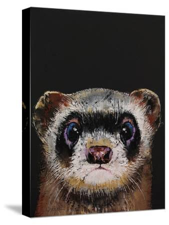 Ferret-Michael Creese-Stretched Canvas Print