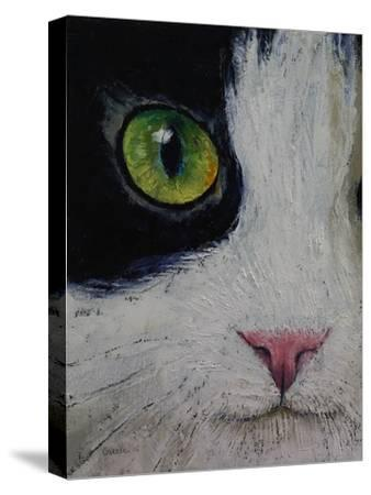 Japanese Bobtail Cat-Michael Creese-Stretched Canvas Print